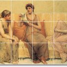 Millet Women Murals Wall Tile Dining Room Remodeling House Idea