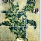 Monet Flowers Tile Bathroom Shower Mural Renovations Idea Home