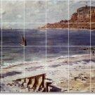Monet Waterfront Bathroom Tiles Floor Construction Contemporary