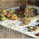 Monet Fruit Vegetables Tile Bathroom Mural Shower Modern Home
