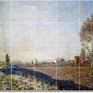Monet Country Murals Bathroom Wall Design Remodeling Idea Home