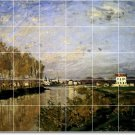 Monet Country Floor Kitchen Murals Residential Idea Remodeling