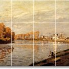 Monet Country Floor Murals Kitchen Remodeling Residential Idea