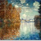 Monet Country Murals Kitchen Floor Remodeling Idea Residential