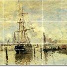 Monet Ships Room Dining Tile Renovations Interior Decorate Idea