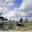 Monet Waterfront Tile Room Dining Wall Construction Residential
