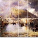Moran Landscapes Shower Tile Mural Wall Renovate Ideas Interior