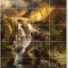 Moran Landscapes Room Dining Tile Murals Interior Decor Remodel