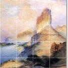 Moran Landscapes Room Dining Murals Tile Remodel Interior Decor