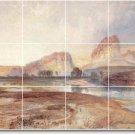 Moran Landscapes Room Murals Dining Tile Decor Remodel Interior
