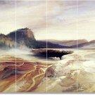 Moran Landscapes Wall Bathroom Murals Shower Design Decor Floor