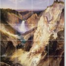 Moran Waterfalls Room Tiles Floor Mural Remodeling Contemporary