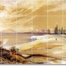 Moran Landscapes Mural Floor Tiles Room Design House Remodeling