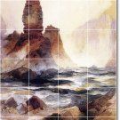 Moran Waterfalls Tiles Backsplash Mural Modern House Decorating