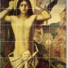 Moreau Mythology Mural Bathroom Tiles Remodel Ideas Residential