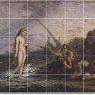 Moreau Mythology Mural Tiles Bathroom Ideas Residential Remodel