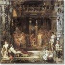 Moreau Mythology Living Mural Tile Room Interior Renovate Decor