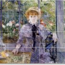 Morisot Women Murals Backsplash Tile Decorate Renovations Home