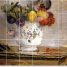 Morisot Flowers Murals Floor Kitchen Wall Decor House Remodel