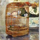 Morisot Still Life Bathroom Mural Shower Wall Decor Home Decor