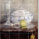 Morisot Still Life Dining Room Mural Tiles House Remodel Decor
