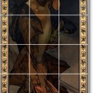 Mucha Poster Art Kitchen Mural Floor Construction Home Decorate