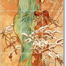 Mucha Poster Art Wall Murals Bedroom Tile Home Decorating Ideas
