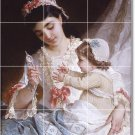 Munier Mother Child Floor Wall Dining Room Murals Renovate House
