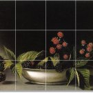 Peale Fruit Vegetables Tile Room Dining Mural Design Renovate