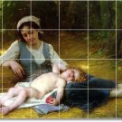 Perrault Mother Child Room Tiles Mural Ideas Remodel Commercial
