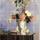 Pissarro Flowers Dining Wall Room Murals Remodeling Design Home