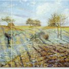 Pissarro Country Dining Murals Room Wall Design Remodeling Home