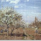 Pissarro Country Wall Dining Room Murals Tile Ideas Renovations