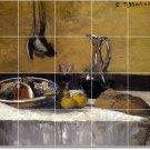 Pissarro Still Life Floor Mural Room Dining Residential Remodel
