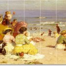 Potthast Waterfront Room Mural Tiles Dining Remodel Floor Decor