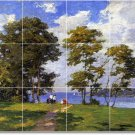 Potthast Landscapes Tile Bathroom Mural Home Ideas Construction
