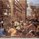 Poussin Religious Room Mural Wall Tiles Home Renovations Modern