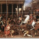 Poussin Historical Dining Mural Room Tiles Remodel House Decor