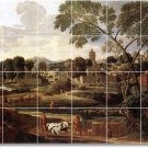 Poussin Landscapes Tile Mural Room Ideas Interior Construction