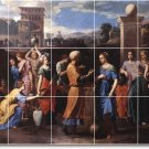 Poussin Religious Murals Kitchen Wall Floor Remodel Decor House