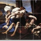 Poussin Mythology Murals Floor Kitchen Wall Decor House Remodel