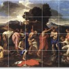 Poussin Religious Murals Floor Wall Kitchen Decor Remodel House