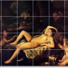 Poussin Nudes Bedroom Wall Tile Murals Design Renovations Home