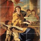 Poussin Religious Mural Room Wall Wall Dining Renovate Interior