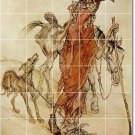 Rackham Illustration Kitchen Tiles Floor Mural Modern Decor Home