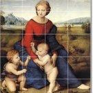 Raphael Mother Child Tiles Kitchen Floor Mural Decor Decor House
