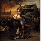 Raphael Mythology Dining Room Wall Mural Tile Remodeling Modern