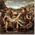 Raphael Religious Tile Wall Mural Dining Room Decor Decor Floor