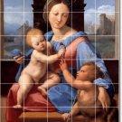 Raphael Mother Child Tiles Bedroom Floor Mural Decor Home Design