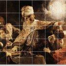 Rembrandt Mythology Mural Room Tiles Interior Renovations Ideas